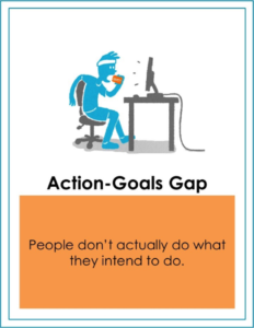 action goals gap