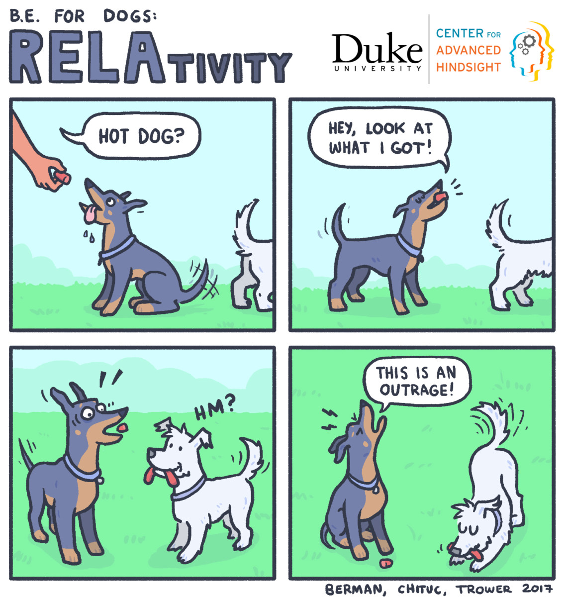 Relativity | Behavioral economics | Duke university