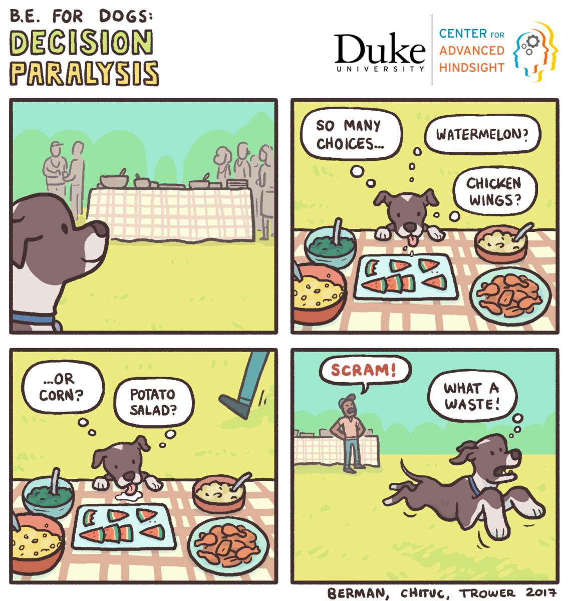 decision paralysis | Behavioral economics | Duke university