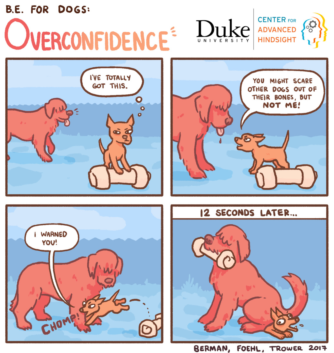 Overconfidence | Behavioral economics | Center for advanced hindsight