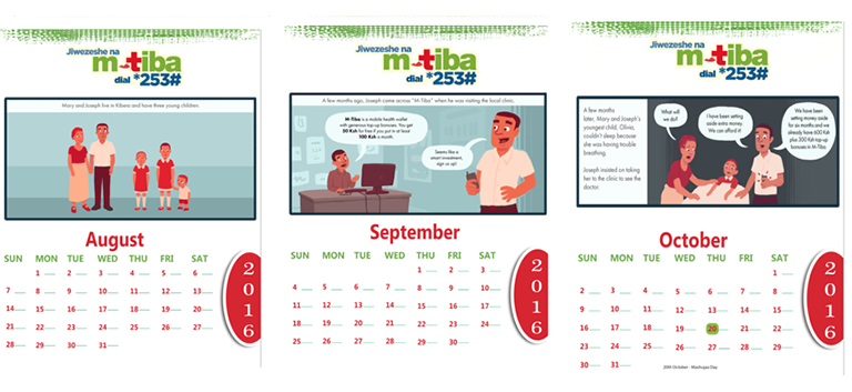 storytelling calendar led to greater savings