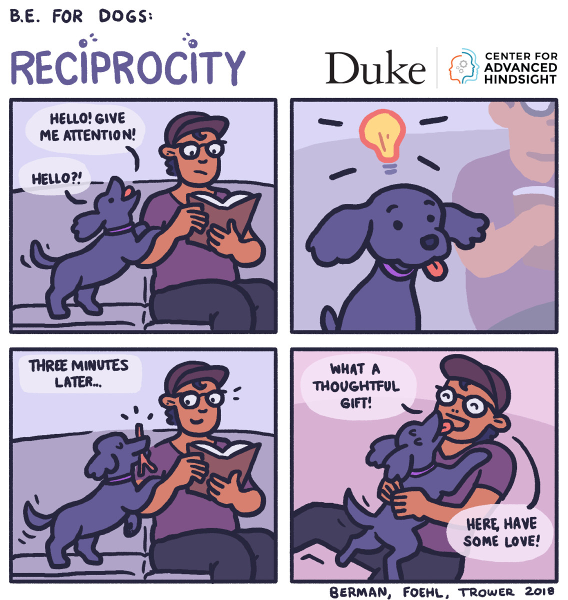 Reciprocity | Behavioral economics | B.E. for dogs