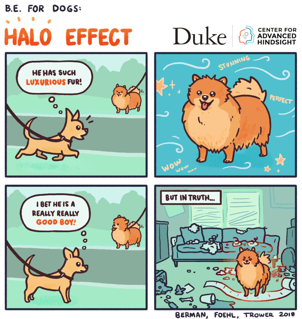halo effect research | behavioral economics