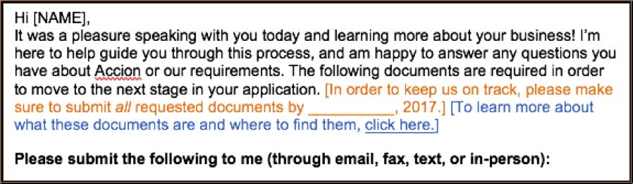 laon application email | Management debt | Common cents lab