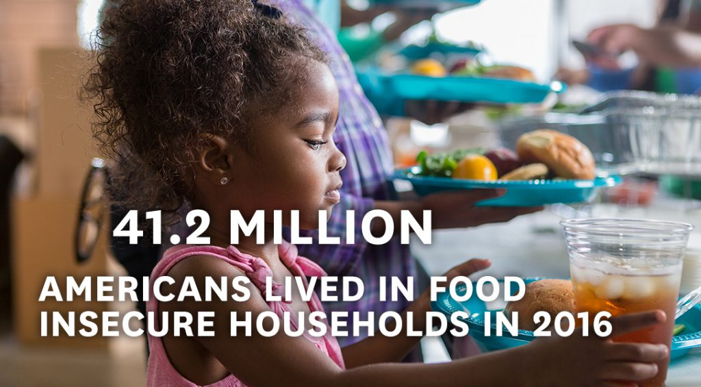 live in food insecure household